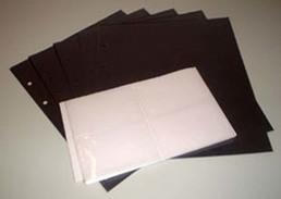 5 Telefonkarten-Hüllen Zum Selbergestalten Black - Phonecards