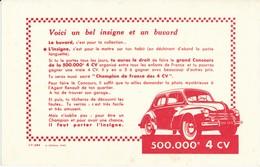 BUVARD -  Automobile, 4 CV - Automotive