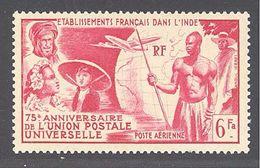 Inde: Yvert N° A 21**; MNH; Cote 12.60€ - India (1892-1954)