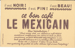BUVARD - Café LE MEXICAIN - Coffee & Tea