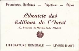 BUVARD - Librairie Des Editions De L'Ouest, Angers - Stationeries (flat Articles)