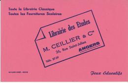 BUVARD - Librairie Des Etudes, Angers - Stationeries (flat Articles)