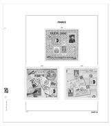 DAVO 13659 Luxe Supplement France CNEP 2009 - Fogli Prestampati