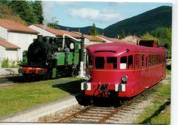 30 ANDUZE CEVENNES TRAIN CHEMIN DE FER  GARD - Anduze
