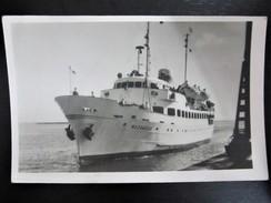 Postcard-Poland,Gdynia,MAZOWSZE Boat In Port (1958.) 48.A - Segelboote