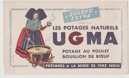 BUVARD UGMA Les Potages Naturels - Potages & Sauces