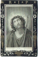 Doodsprentje/Image Mortuaire. Vanden Daele/Vandevelde, Conseiller Provincial. Bruxelles 1824/Isque 1872. - Imágenes Religiosas