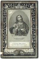 Doodsprentje/Image Mortuaire. Van Den Daele. Décédé à Isque Le 17 Mai 1869. - Imágenes Religiosas