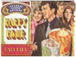 Belle Publicité Alcools. Barguide. 45 Cocktails, Illustrée De Photos. USA 1970. - Alcoholes