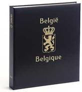 DAVO 2241 Luxe Binder Stamp Album Belgium 20th Century - Large Format, Black Pages