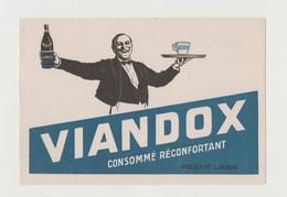 BUVARD VIANDOX - Potages & Sauces