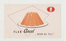 BUVARD FLAN ANCEL - Cake & Candy