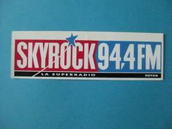 Autocollant Anciens : SKYROCK 94,4 FM ROYAN La Superradio - Autocollants