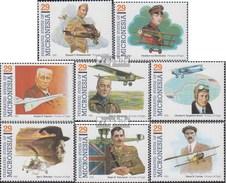 Mikronesien 265-272 (complète.Edition.) Neuf Avec Gomme Originale 1993 Pionniers Le Aviation - Micronésie