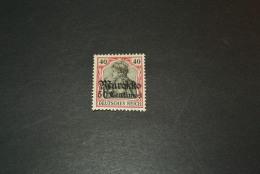 K12872- Stamp Umint Hinged -  Reichspost Marokko - 1905- SC. 26- T- 27 - 50 Centimes On 40pf - Bureau: Maroc