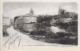 26)  BAUME  De TRANSIT  - Eglise XII E Siècle - France