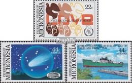 Mikronesien 50-52 (complète.Edition.) Neuf Avec Gomme Originale 1986 Années Événements - Micronésie