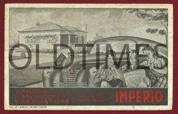 PORTUGAL - IMPERIO SEGUROS - 1952 BLOTTER - Bank & Insurance