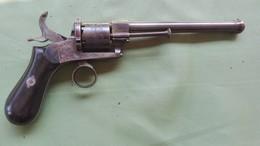 Revolver A Spillo, Epoca 1860, Cal. 7 Mm. Condizioni MINT - Decorative Weapons