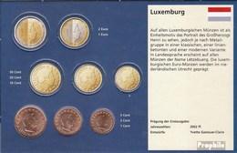 Luxembourg LUX1 - 3 2002 Stgl./unzirkuliert Stgl./unzirkuliert 2002 Kursmünze 1, 2 Et 5 Cent - Luxembourg