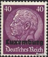 Luxembourg (Allemand.occ.2.wk.) 12 Oblitéré 1940 émision De Surcharge - Occupation 1938-45