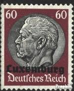 Luxembourg (Allemand.occ.2.wk.) 14 Oblitéré 1940 émision De Surcharge - Occupation 1938-45