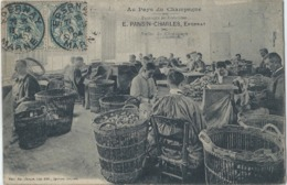 EPERNAY  (MARNE) - FABRIQUE DE BOUCHONS E Pansin Charles - CPA Ayant Circulé En 1904 - Série B14 - Epernay