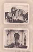 SANDWICH - ST CLEMENTS CHURCH. DUAL VIEW - England