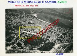 Vallee De La Meuse-?-Ardennes Belges Ou 08-AVION En VOL-NON SITUEE-PHOTO Aerienne All.-Guerre 14-18-1 WK- - Unclassified