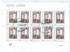 NEDERLAND * MINI JURK *  BLOK BLOC * BLOCK * GEBRUIKT *  POSTFRIS GESTEMPELD * (85) - Gebruikt