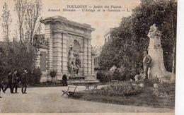 Toulouse Animée Le Jardin Des Plantes Monument L'Ariège Et La Garonne Par Armand Silvestre - Toulouse