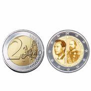 2 € Commémorative Qui Célébrera Les 200 Ans De La Naissance Du Grand-Duc Guillaume III - Luxembourg
