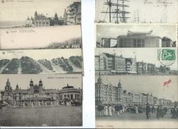 Oostende Ostende ( 8 Kaarten ) ( 1 EUR Portokosten Minder Dan 50 Gr ) - Oostende