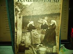 """-**ZONDAGSVRIEND  -**n°30-22/7/1937-""""De  Oude  Abdij  Van DRONGEN(2 Blz.)+Achtercover=Toren Van DRONGEN - Magazines & Newspapers"""