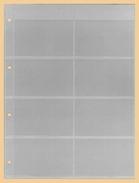10x KOBRA-Telefonkartenblatt Nr. E142 - Zubehör