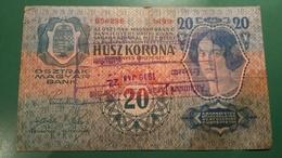 Zwanzig Kronen ,wien 1913 , Sigil - Oesterreich