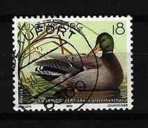 LUXEMBURG - Mi-Nr. 1503 Einheimische Tiere: Enten Gestempelt (4) - Gebruikt