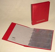 KOBRA-Telefonkarten-Album Nr. G28 Blau - Zubehör