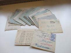 Feldpost 2. WK 1940-43 Korrespondenz Bis Zum Tode. Gefallen Für Großdeutschland. Russland / Frankreich. Commandant Teste - Briefmarken