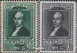 Union Soviétique 1369-1370 (complète.Edition.) Oblitéré 1949 Radischtschew - 1923-1991 USSR