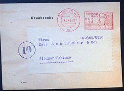 DR Bedarfs Freistempel Karte 1944 Gelaufen Dresden Nach Siegmar - Deutschland