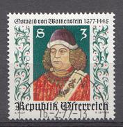 Autriche 1977  Mi.Nr: 1541 Geburtstag Von Oswald Von Wolkenstein  Oblitèré / Used / Gebruikt - 1945-.... 2ème République