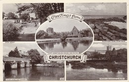 New Zealand, Greetings Van Christchurch, Constables House And Ruins (pk40620) - England