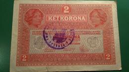 2 Ket Korona 1917 - Oesterreich