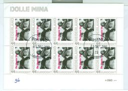 NEDERLAND * DOLLE MINA *  BLOK BLOC * BLOCK * GEBRUIKT *  POSTFRIS GESTEMPELD * (96) - Period 1980-... (Beatrix)