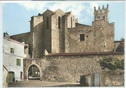 Ille-sur-Têt-Église Vue De La Porte De La Fontaine (Verso Décollée Proprement D'un Cahier,voir Scan) (CPSM) - Sonstige Gemeinden