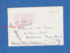 Enveloppe Ancienne - Cachet British Troops In AUSTRIA - 1949 - Certified Official - S.D.S. - Colonel Carolet Officier - Militaria