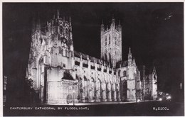 Canterbury Cathedral By Floodlight (pk40627) - Canterbury