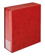 Lindner 1302-W Companion Set Multi Collect: Ring Binder 1300 + Slipcase 1301, Wine Red - Albums à Bandes