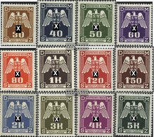 Bohemia And Moravia D13-D24 (complete Issue) Unmounted Mint / Never Hinged 1943 Adler - Unused Stamps
